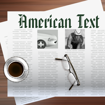American+Text