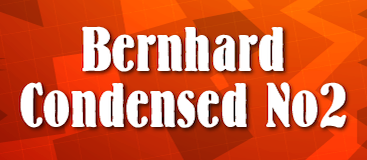 Bernhard Condensed No2