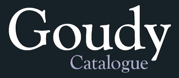 Goudy Catalogue Pro-Regular